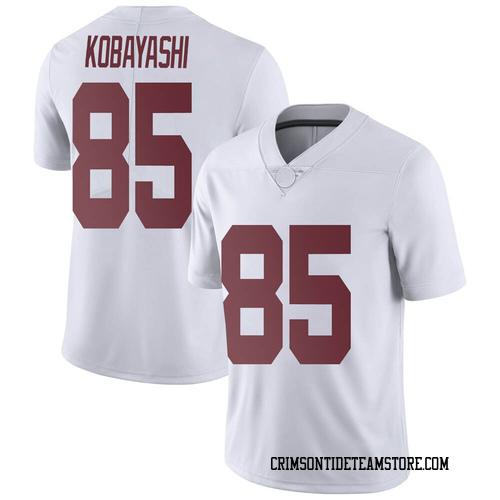 Men's Nike Drew Kobayashi Alabama Crimson Tide Limited White Football College Jersey
