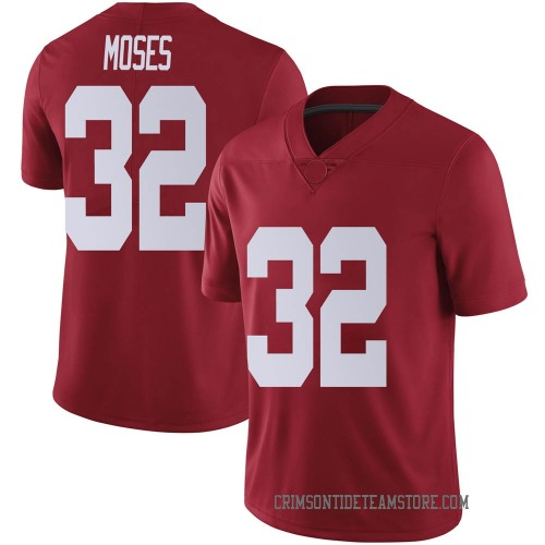 Men's Nike Dylan Moses Alabama Crimson Tide Limited Crimson Football College Jersey