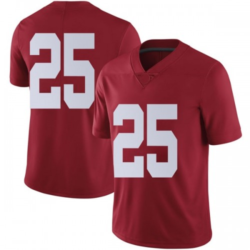 Men's Nike Eddie Smith Alabama Crimson Tide Limited Crimson Football College Jersey