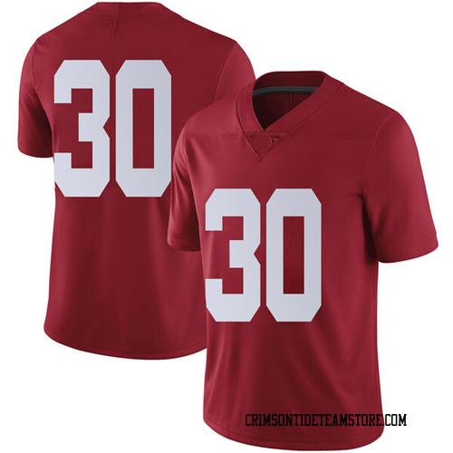 Men's Nike Galin Smith Alabama Crimson Tide Limited Crimson Football College Jersey