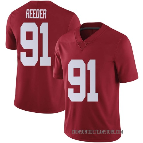 Men's Nike Gavin Reeder Alabama Crimson Tide Limited Crimson Football College Jersey