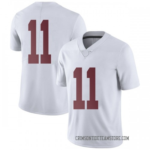 Men's Nike Henry Ruggs III Alabama Crimson Tide Limited White Football College Jersey