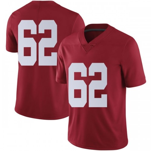 Men's Nike Houston Needham Alabama Crimson Tide Limited Crimson Football College Jersey