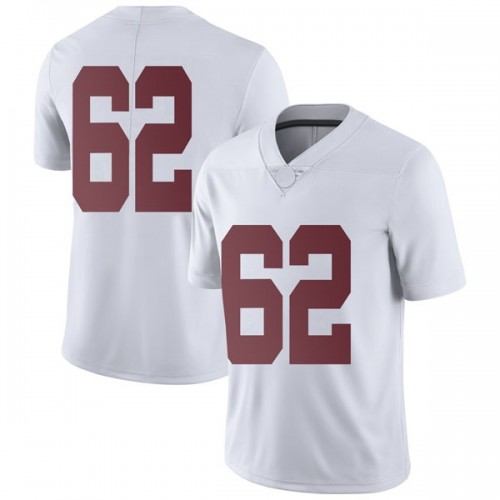Men's Nike Houston Needham Alabama Crimson Tide Limited White Football College Jersey
