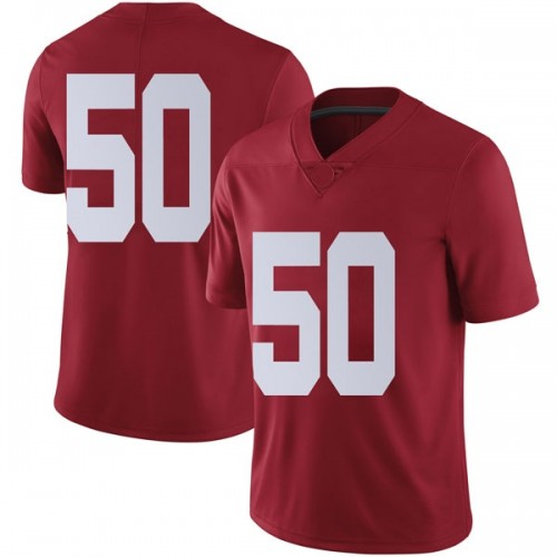 Men's Nike Hunter Brannon Alabama Crimson Tide Limited Crimson Football College Jersey