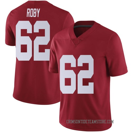 Men's Nike Jackson Roby Alabama Crimson Tide Limited Crimson Football College Jersey