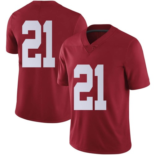 Men's Nike Jahquez Robinson Alabama Crimson Tide Limited Crimson Football College Jersey