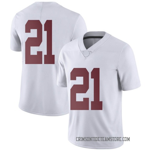 Men's Nike Jahquez Robinson Alabama Crimson Tide Limited White Football College Jersey