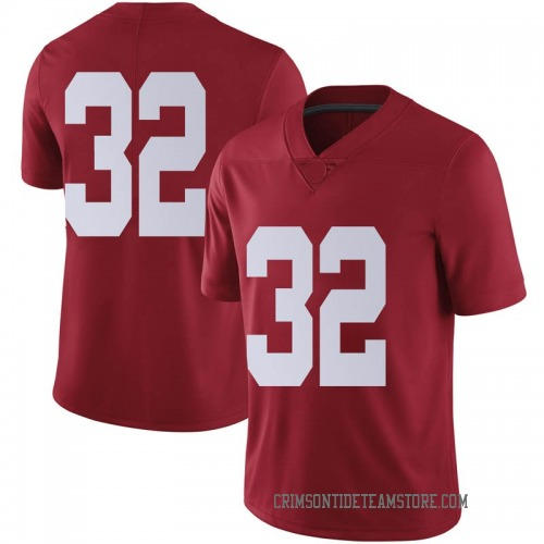 Men's Nike Jalen Jackson Alabama Crimson Tide Limited Crimson Football College Jersey