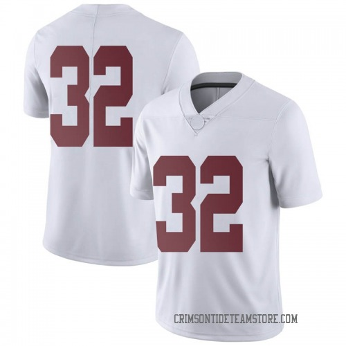 Men's Nike Jalen Jackson Alabama Crimson Tide Limited White Football College Jersey