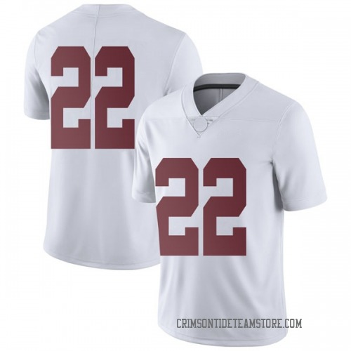 Men's Nike Jalyn Armour-Davis Alabama Crimson Tide Limited White Football College Jersey