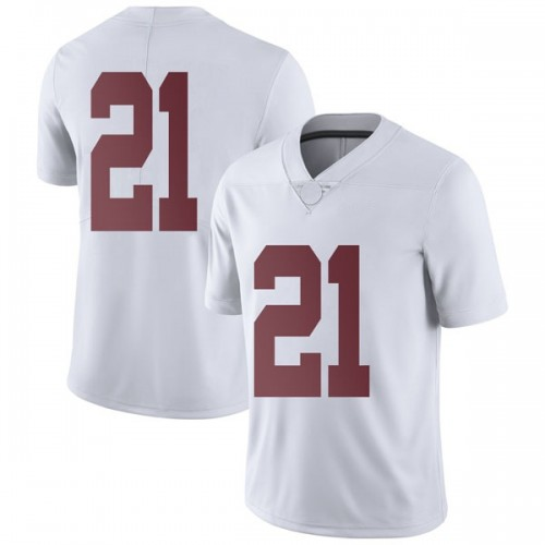 Men's Nike Jared Mayden Alabama Crimson Tide Limited White Football College Jersey
