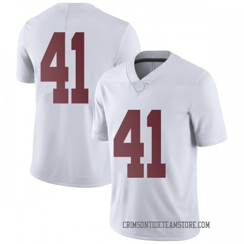 Men's Nike Jaylen Moody Alabama Crimson Tide Limited White Football College Jersey