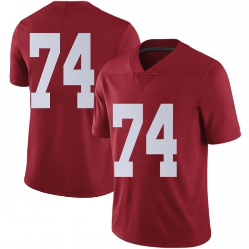 Men's Nike Jedrick Wills Jr. Alabama Crimson Tide Limited Crimson Football College Jersey