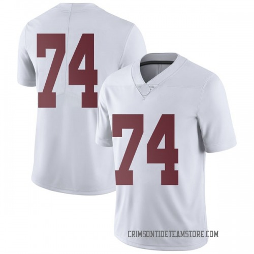 Men's Nike Jedrick Wills Jr. Alabama Crimson Tide Limited White Football College Jersey