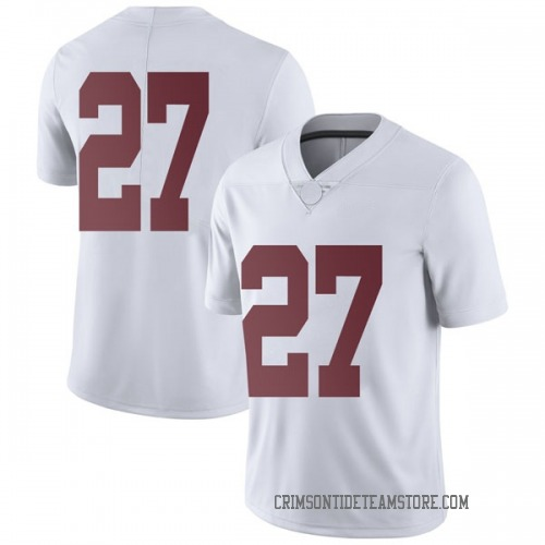 Men's Nike Jerome Ford Alabama Crimson Tide Limited White Football College Jersey