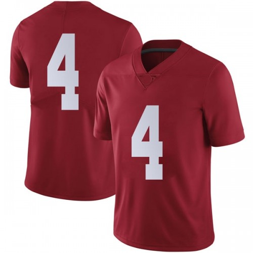 Men's Jerry Jeudy Alabama Crimson Tide Limited Crimson Football College Jersey