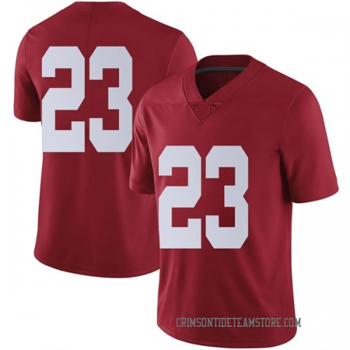 Men's Nike John Petty Alabama Crimson Tide Limited Crimson Football College Jersey