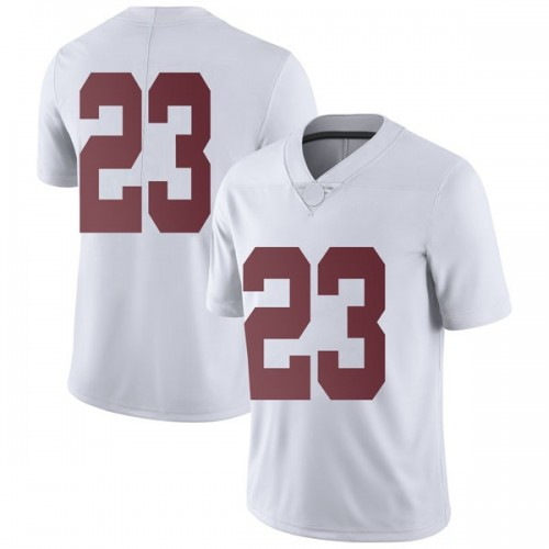 Men's Nike John Petty Alabama Crimson Tide Limited White Football College Jersey