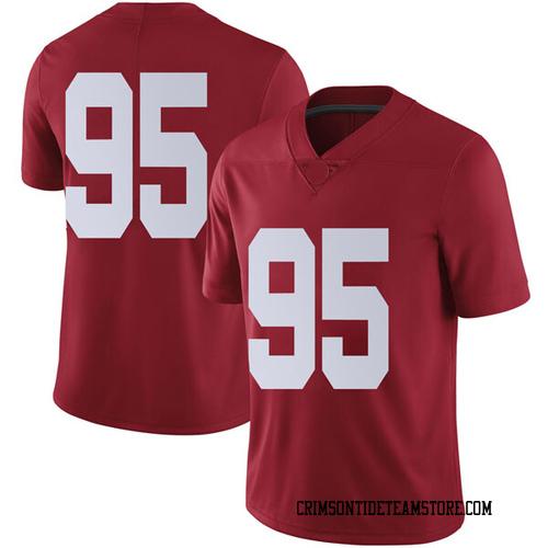 Men's Nike Johnny Dwight Alabama Crimson Tide Limited Crimson Football College Jersey