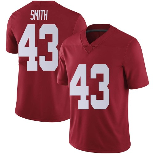Men's Nike Jordan Smith Alabama Crimson Tide Limited Crimson Football College Jersey