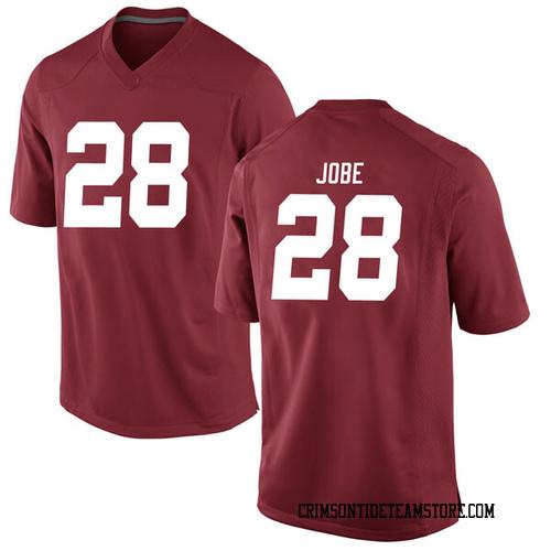 Men's Nike Josh Jobe Alabama Crimson Tide Game Crimson Football College Jersey