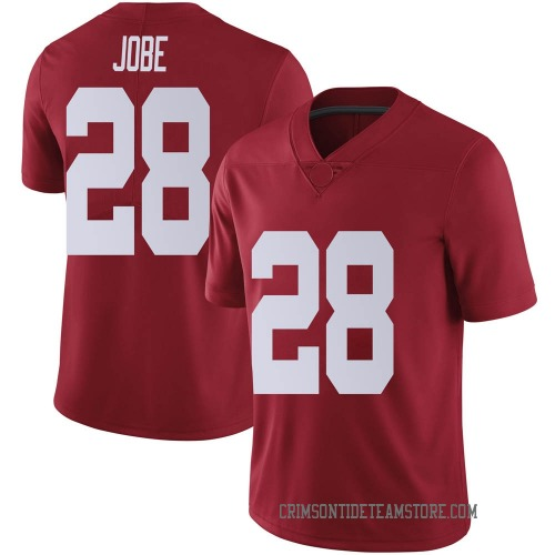 Men's Josh Jobe Alabama Crimson Tide Limited Crimson Football College Jersey