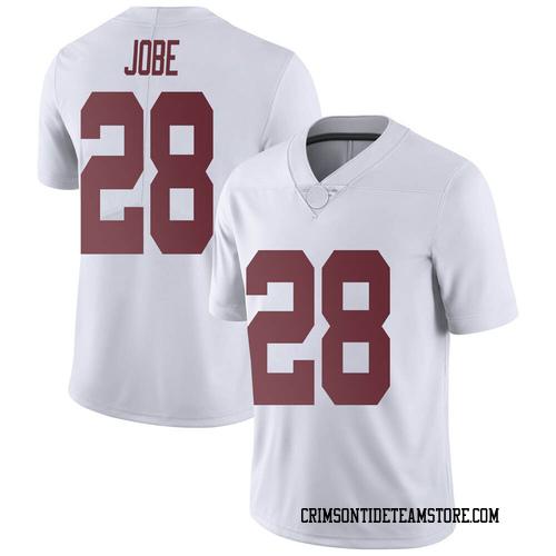 Men's Nike Josh Jobe Alabama Crimson Tide Limited White Football College Jersey