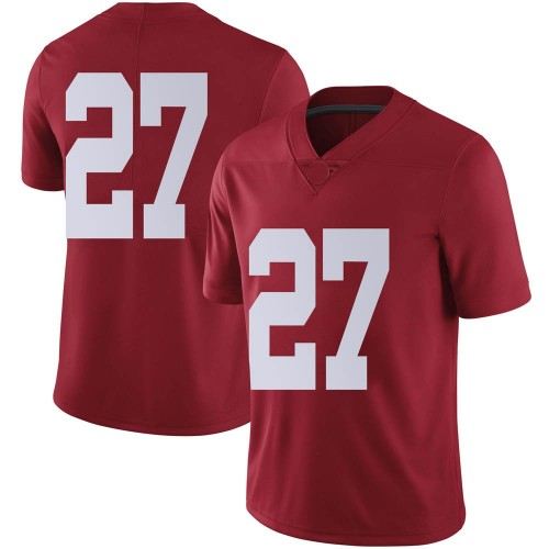 Men's Nike Joshua Robinson Alabama Crimson Tide Limited Crimson Football College Jersey