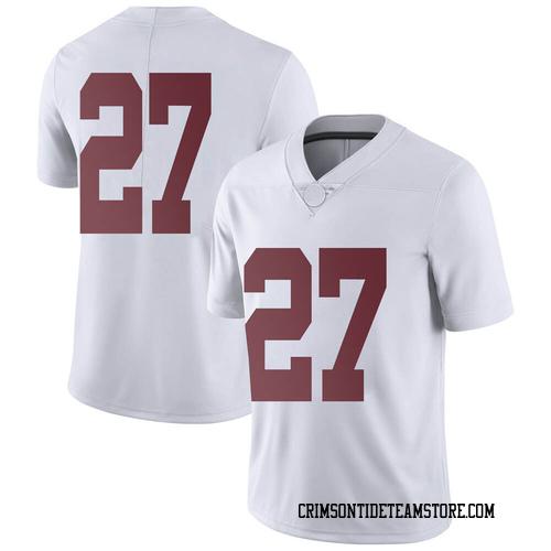 Men's Nike Joshua Robinson Alabama Crimson Tide Limited White Football College Jersey
