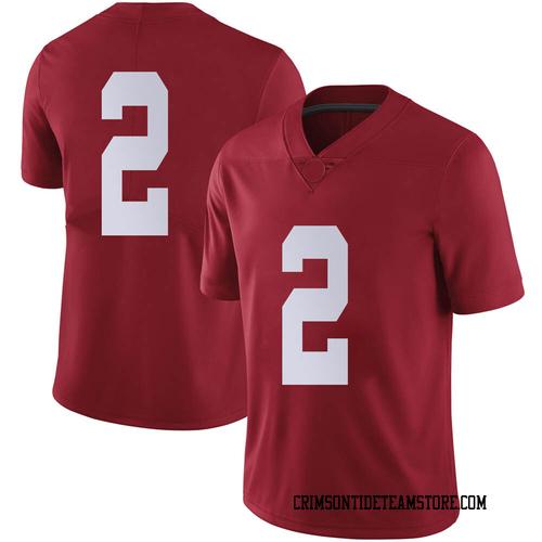 Men's Nike Keilan Robinson Alabama Crimson Tide Limited Crimson Football College Jersey