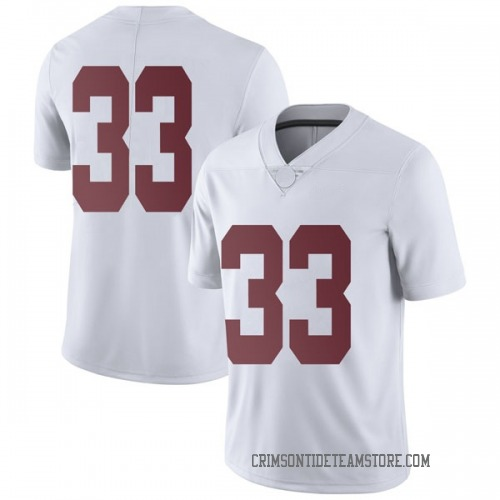 Men's Nike Kendall Norris Alabama Crimson Tide Limited White Football College Jersey