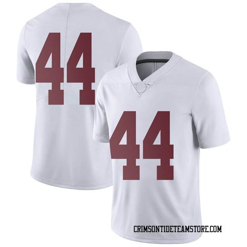 Men's Nike Kevin Harris II Alabama Crimson Tide Limited White Football College Jersey