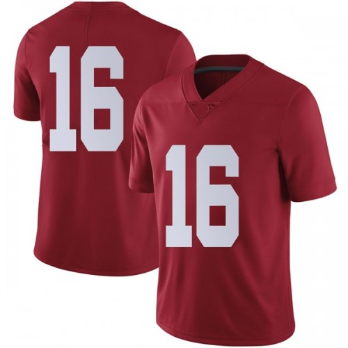 Men's Nike Kyle Edwards Alabama Crimson Tide Limited Crimson Football College Jersey
