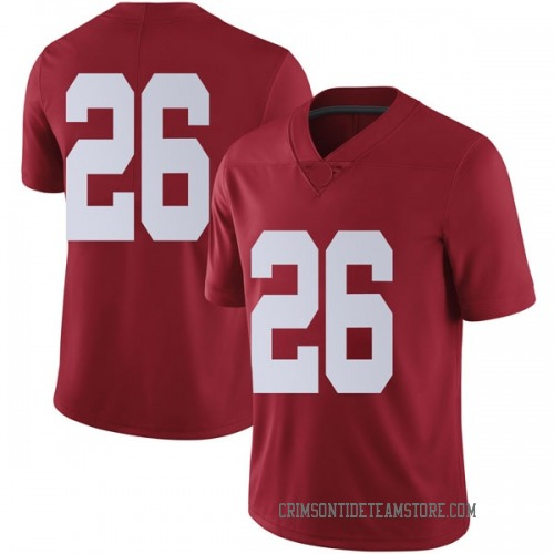Men's Nike Kyriq McDonald Alabama Crimson Tide Limited Crimson Football College Jersey