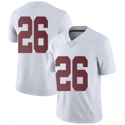Men's Nike Kyriq McDonald Alabama Crimson Tide Limited White Football College Jersey