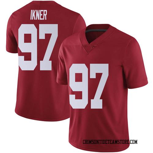 Men's Nike LT Ikner Alabama Crimson Tide Limited Crimson Football College Jersey