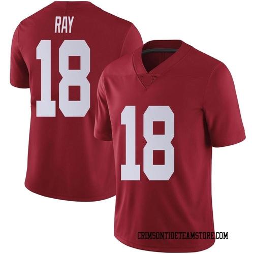 Men's Nike Labryan Ray Alabama Crimson Tide Limited Crimson LaBryan Ray Football College Jersey