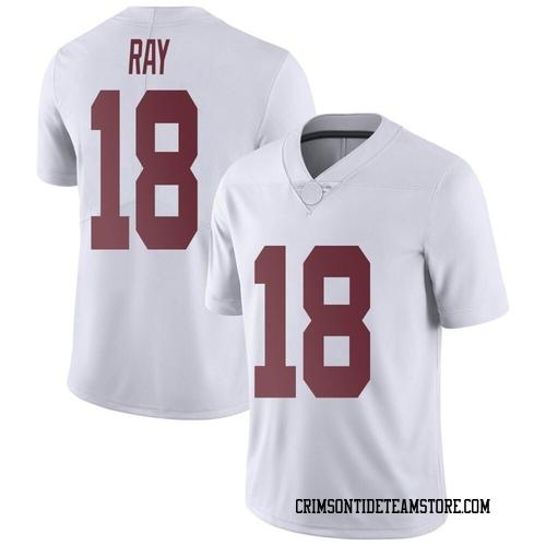 Men's Nike Labryan Ray Alabama Crimson Tide Limited White LaBryan Ray Football College Jersey