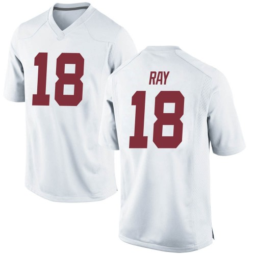 Men's Nike Labryan Ray Alabama Crimson Tide Replica White LaBryan Ray Football College Jersey