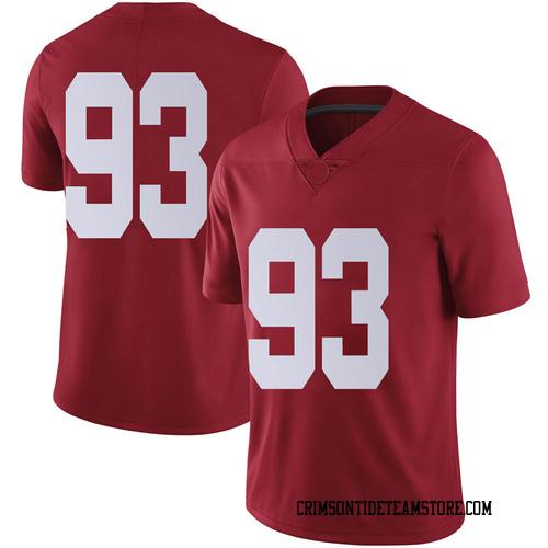 Men's Nike Landon Bothwell Alabama Crimson Tide Limited Crimson Football College Jersey