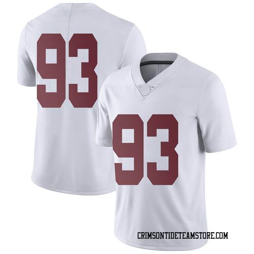 Men's Nike Landon Bothwell Alabama Crimson Tide Limited White Football College Jersey