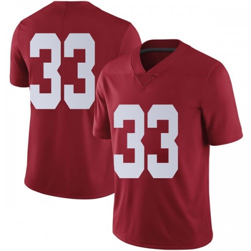 Men's Nike Landon Fuller Alabama Crimson Tide Limited Crimson Football College Jersey