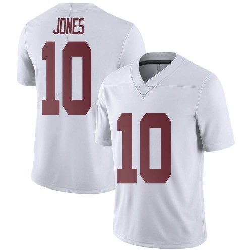 Men's Nike Mac Jones Alabama Crimson Tide Limited White Football College Jersey