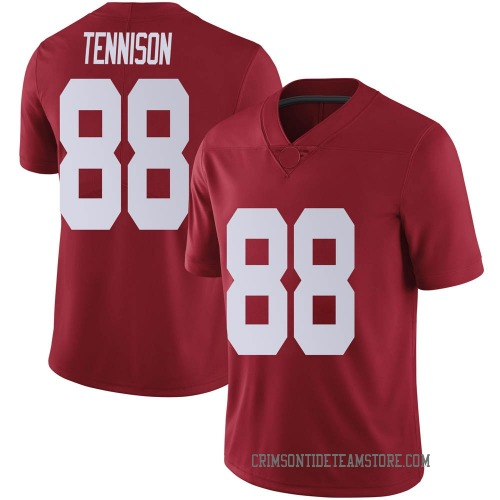 Men's Nike Major Tennison Alabama Crimson Tide Limited Crimson Football College Jersey