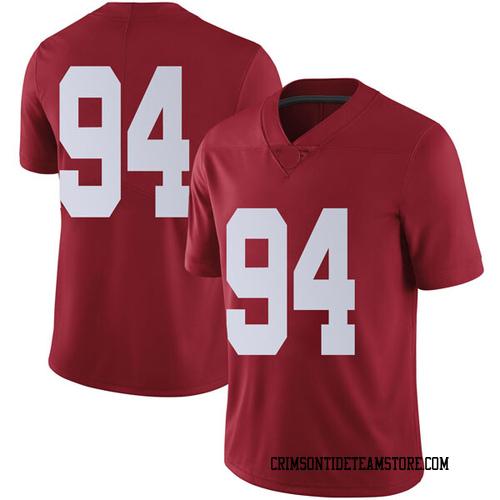 Men's Nike Mario Osborne Jr. Alabama Crimson Tide Limited Crimson Football College Jersey