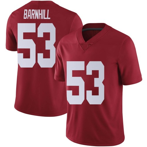 Men's Nike Matthew Barnhill Alabama Crimson Tide Limited Crimson Football College Jersey