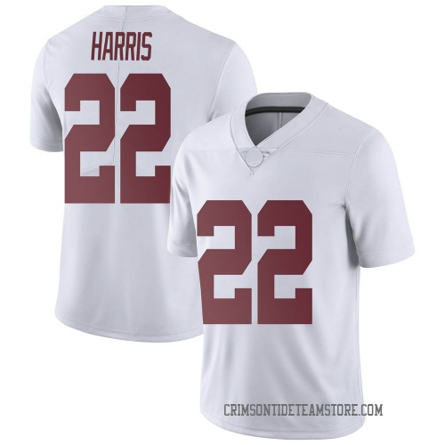 Men's Nike Najee Harris Alabama Crimson Tide Limited White Football College Jersey