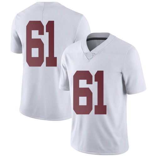 Men's Nike Nathan Jones Alabama Crimson Tide Limited White Football College Jersey