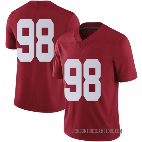 Men's Nike Preston Knight Alabama Crimson Tide Limited Crimson Football College Jersey